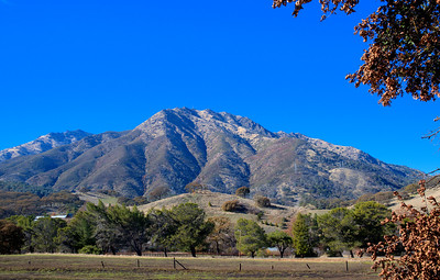 Mount Diablo Winter Sky
