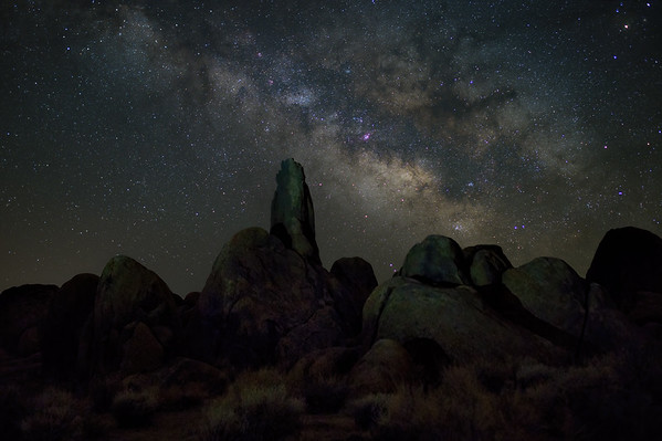 Milky Way ocer the Boot Arch