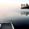 Dock jetty on Northern Lake