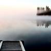 Dock jetty on Northern Lake