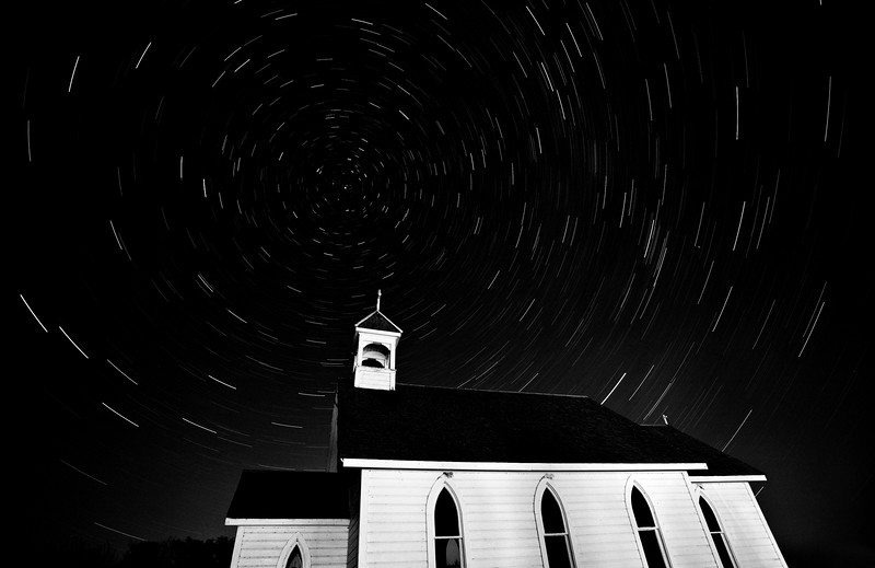 Night Shot Church