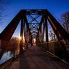 Sunrise Over Bridge