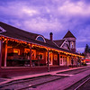 Snoqualmie Depot Christmas Lights