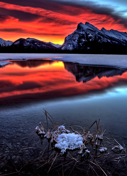 Sunset Mount Rundle