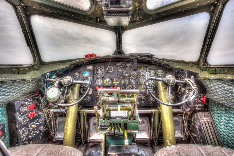 B17 Cockpit
