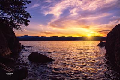 Sunset Lake Coeur D'Alene