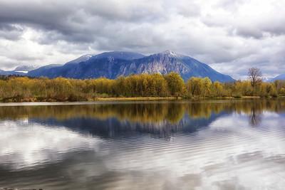 Borst Lake Spring Reflection