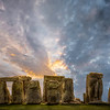 Stonehenge at Sunrise by Art Hakker