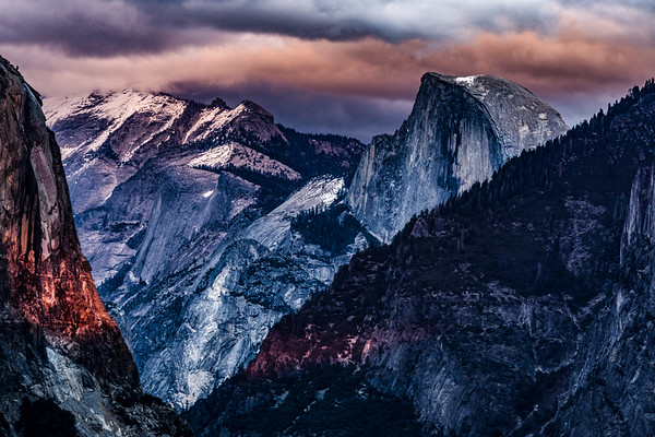 TUNNEL VIEW - STORMY SUNSET | YOSEMITE NATIONAL PARK