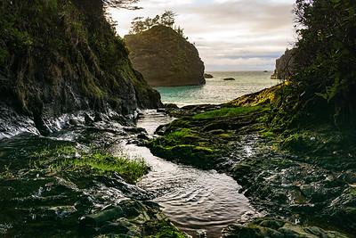 SECRET BEACH - OREGON
