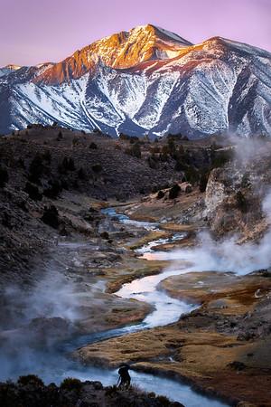 Hot Creek Sunrise