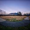 Two Roads - Boardwalk Meadowbrook Farm Winter Golden Hour