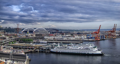 Seattle Waterfront from Great Wheel cropped