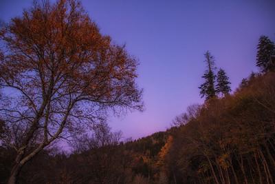 Smoky Mt Sunset 10-17-17
