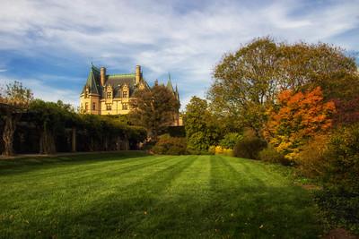 Biltmore Mansion Autumn