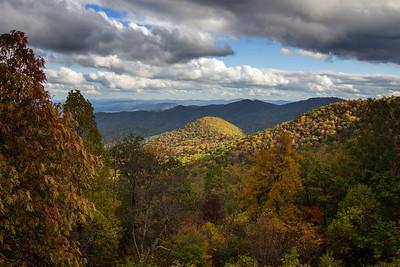 Smoky Mountains Autumn Overview