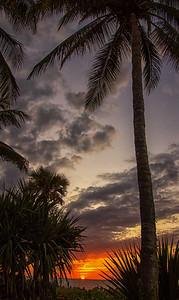 Sunset Naples FL beach 11-5-16 portrait