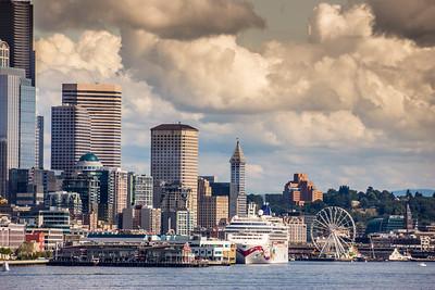 Seattle Harbor Skyline
