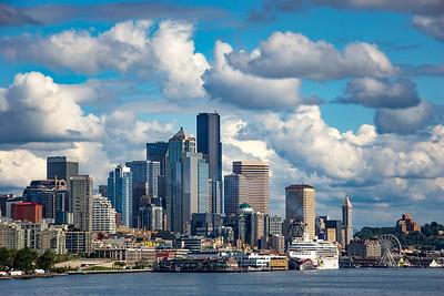Seattle Harbor Skyline 1