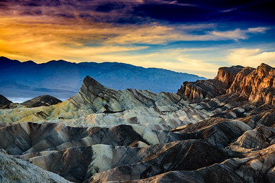 Zabriskie Point at Sundown