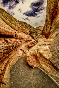 Death Valley Mosaic Canyon HDR 2554