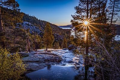 Sunrise at Eagle Falls, Emerald Bay, Lake Tahoe
