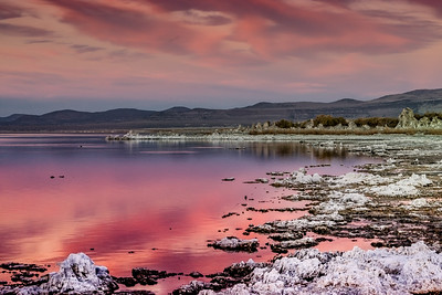 Mono Lake Sunset October 2014
