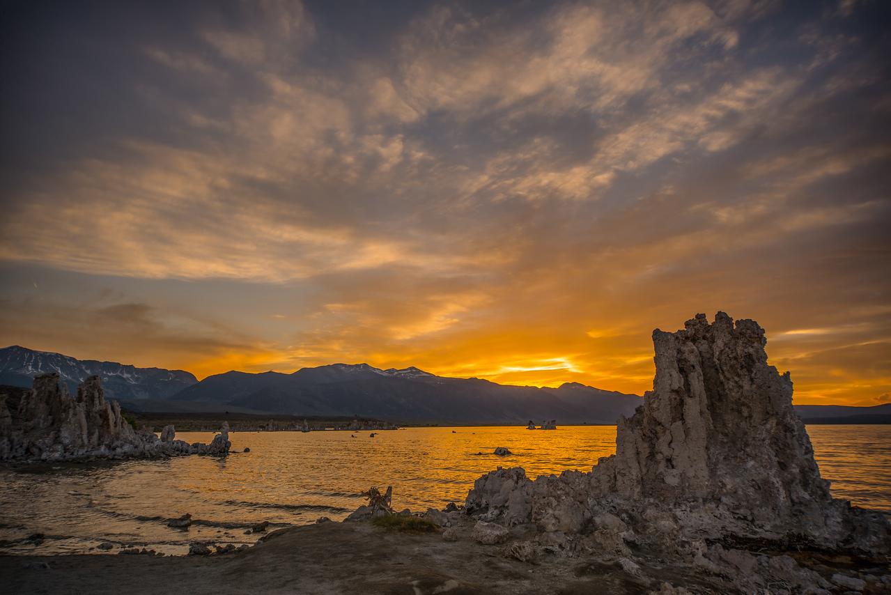 Mono Lake Sunset 4536