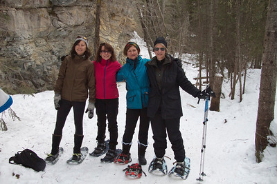 Snowshoeing in Kananaskis Country