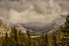 Tenaya Lake in a Storm