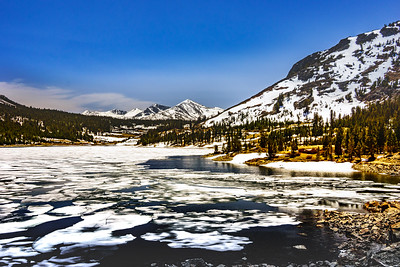 Ellery Lake with Ice