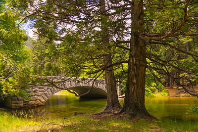 Merced Bridge, Yosemite Valley