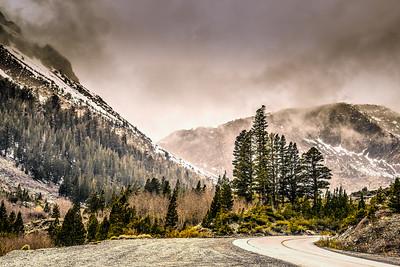 Tioga Pass, Spring Storm