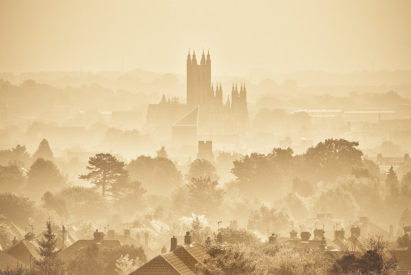 Canterbury through the Mist