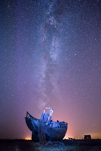 Dungeness and the Milky Way