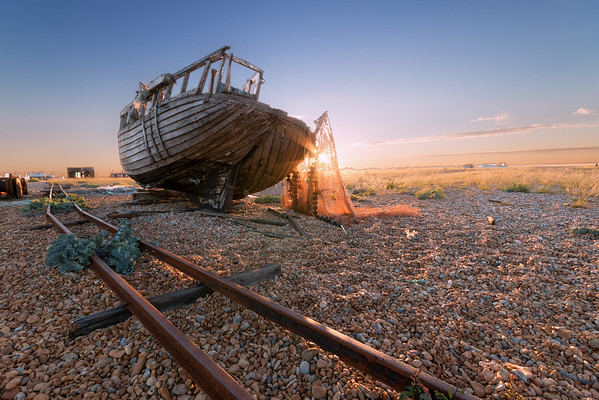 Dungeness Boat Wreck