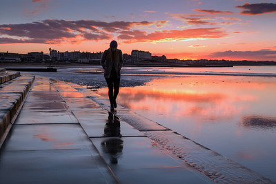 Lone figure Margate