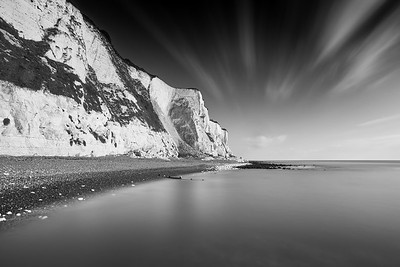 White Cliffs Monochrome