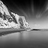 White Cliffs Monochrome