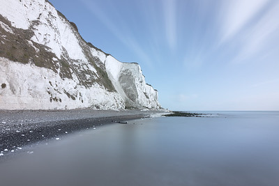 White cliffs from St Margarets