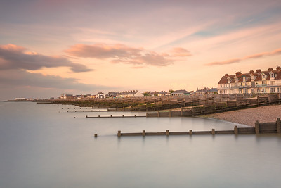 Whitstable Bay at Sunset