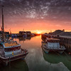 Whitstable Harbour Sunset