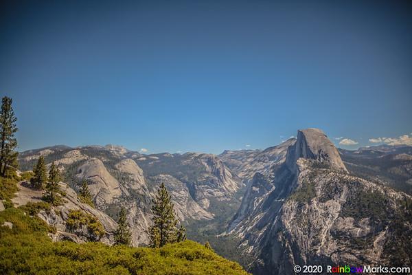 Yosemite's Half Dome from near Glacier Point