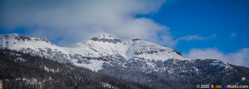Snowy Mountains in Colorado