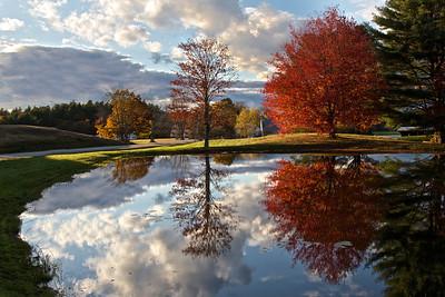 An Autumn Mirror