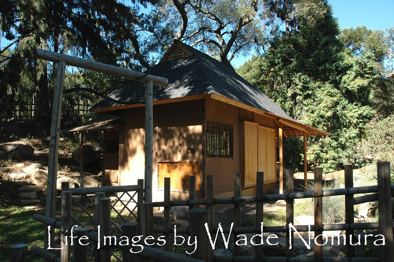 Gate,Tea House
