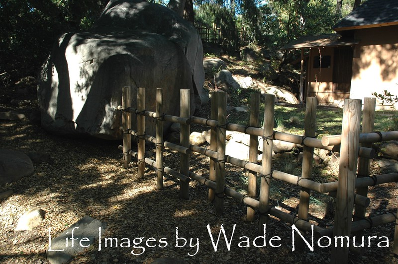 Fence,Stone