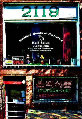 Annointed Hands of Perfection, Charles Street, Baltimore, Maryland