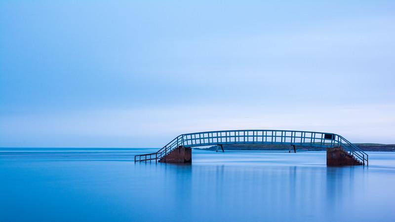 Bridge to nowhere: Belhaven Bay, Dunbar