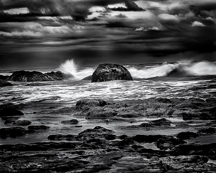 Waves At Dawn